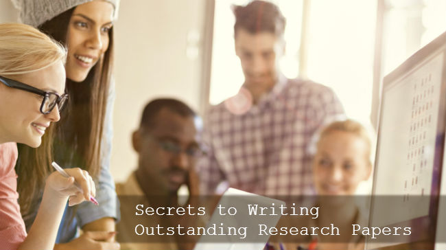 Write My Research Paper. Secrets to Writing Outstanding Research Papers